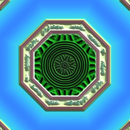 metaphysics: Mandala Eastern abstract design geometric pattern clipart design
