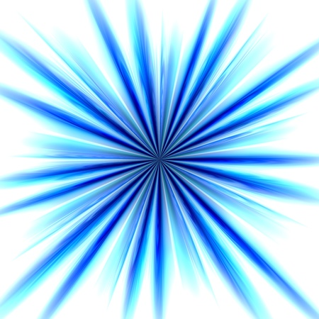 radial: Radial zoom burst of energy, abstract background illustration