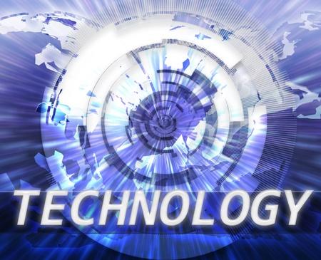 broadband: Global internet broadband data information communications technology concept illustration Stock Photo