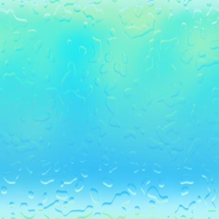 Water droplets raindrops rain drops background abstract illustration illustration