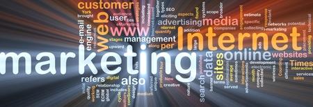 interactions: Software pakket vak Word cloud concept illustratie van internetmarketing Stockfoto