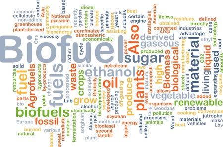 gaseous: Background concept illustration of biofuel renewable fuel