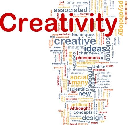 cognitive: Background concept illustration Creativity creative mental Stock Photo