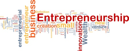 entrepreneurial: Background concept illustration of business entrepreneurship entrepreneur