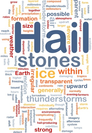 tornadoes: Background concept wordcloud illustration of hail stones weather