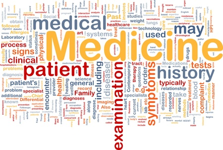 general surgery: Background concept wordcloud illustration of medicine health industry