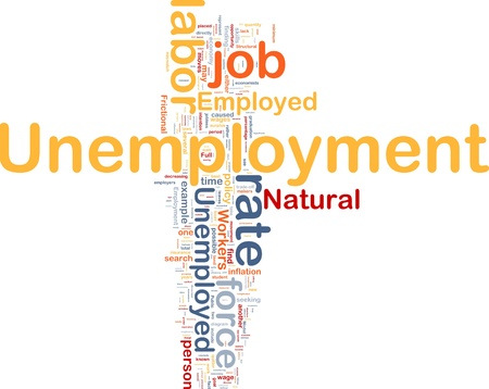 labor policy: Background concept illustration unemployment job labor