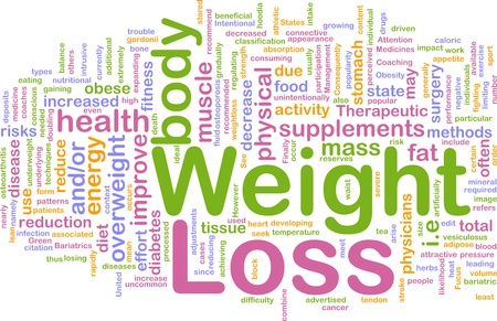 Background concept illustration of weight loss diet illustration