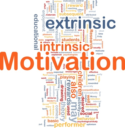 obvious: Background concept wordcloud illustration of motivation