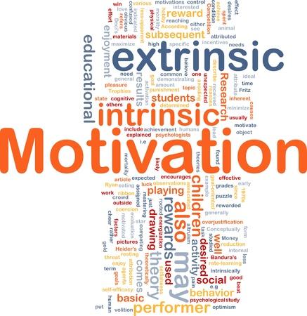 Hintergrund Konzept Wordcloud Abbildung der motivation Lizenzfreie Bilder - 9342868