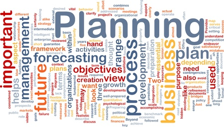 property management: Background concept wordcloud illustration of planning Stock Photo