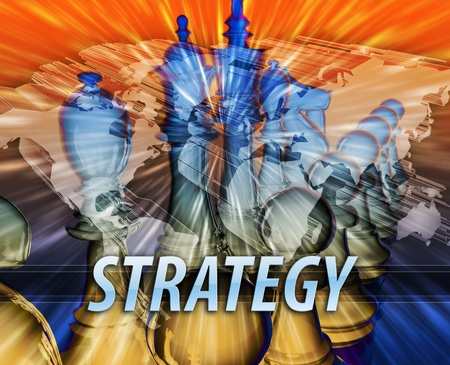 Business management leadership planning strategy abstract concept illustration illustration