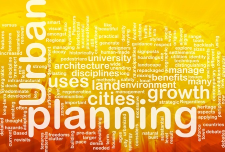 prohibitions: Urban planning background concept international