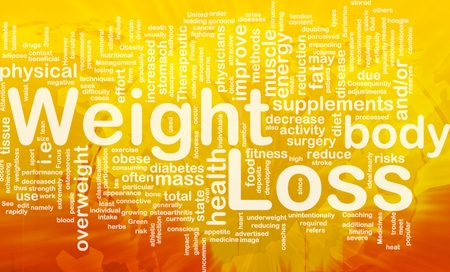 fat loss: Background concept illustration of weight loss diet international