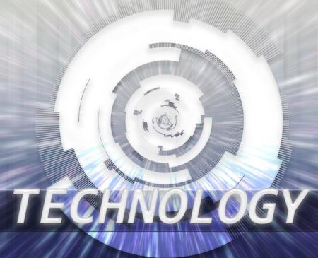 Internet broadband data information communications network technology concept illustration illustration