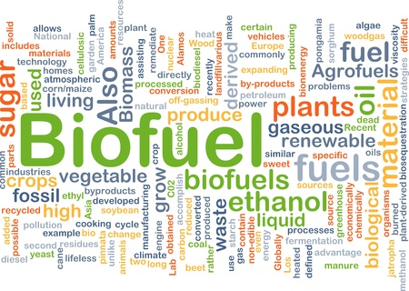 recycled: Background concept illustration of biofuel renewable fuel