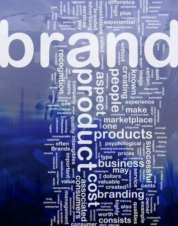 Background concept illustration of brand product marketing international Stock Illustration - 9914913