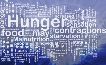 starvation: Background concept illustration of hunger malnutrition starvation international Stock Photo