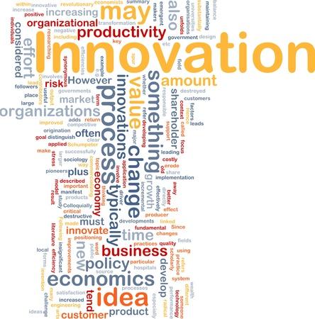 productividad: Ilustraci�n del concepto de fondo de innovaci�n empresarial cambiar