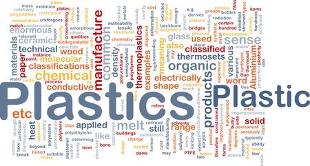 Plastics material background concept Stock Photo - 9914879