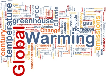 world agricultural: Background concept wordcloud illustration of global warming greenhouse