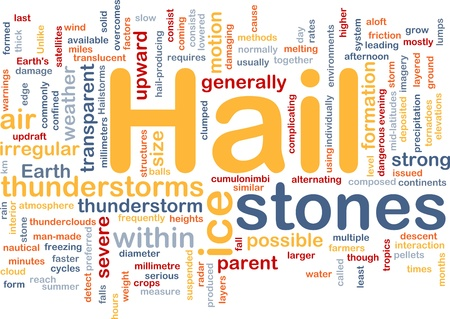 hail: Background concept wordcloud illustration of hail stones weather
