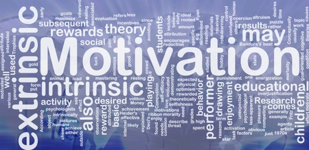 obvious: Background concept wordcloud illustration of motivation international
