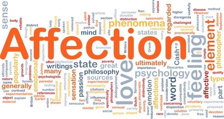 sexual pleasure: Background concept wordcloud illustration of affection