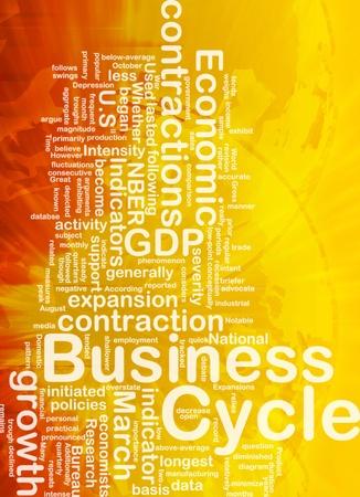economists: Background concept wordcloud illustration of economic business cycle international