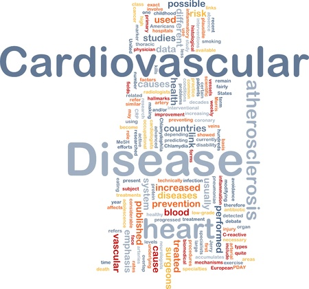 infection prevention: Background concept wordcloud illustration of heart cardiovascular disease