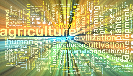 neon plant: Background text pattern concept wordcloud illustration of agriculture glowing light