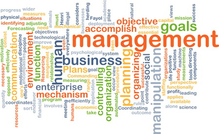 accomplish: Background text pattern concept wordcloud illustration of management Stock Photo