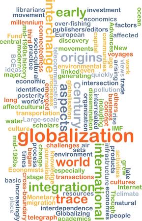 Texto concepto de fondo patrón Ilustración de wordcloud de la globalización Foto de archivo - 39042683