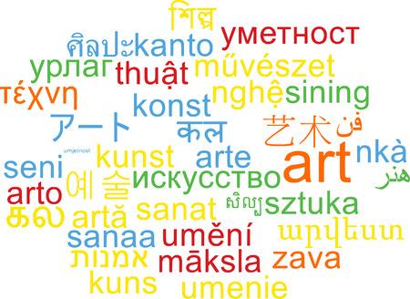 multilanguage: Background concept wordcloud multilanguage international many language illustration of art Stock Photo