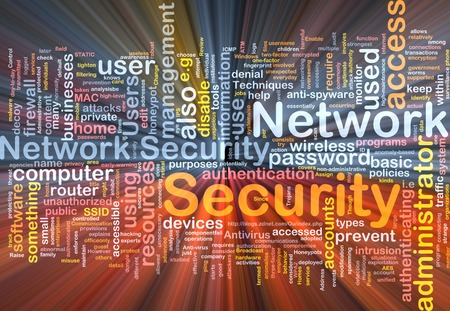 Background text pattern concept wordcloud illustration of network glowing light