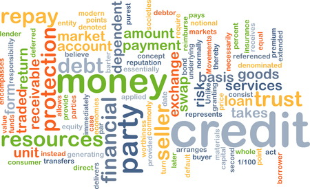 repay: Background text pattern concept wordcloud illustration of financial credit