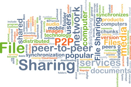 shared sharing: Background text pattern concept wordcloud illustration of file sharing Stock Photo