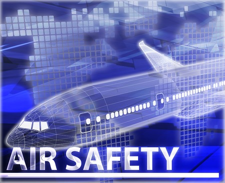 frequent: Abstract background digital collage concept illustration air travel safety Stock Photo