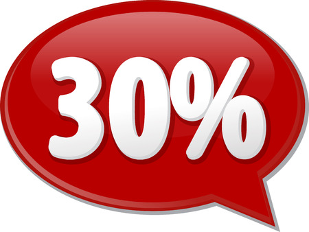 discussion forum: Word speech bubble illustration of discussion forum blog percent discount thirty 30