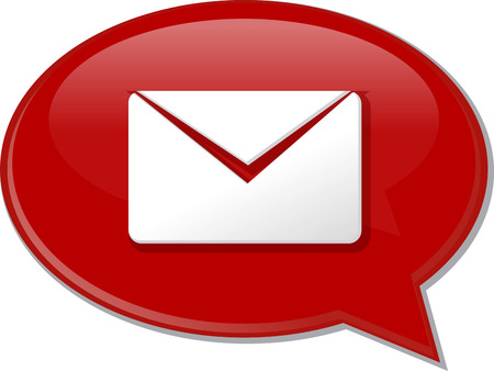 discussion forum: Word speech bubble illustration of discussion forum blog envelope mail post