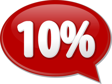 discussion forum: Word speech bubble illustration of discussion forum blog percent discount ten 10