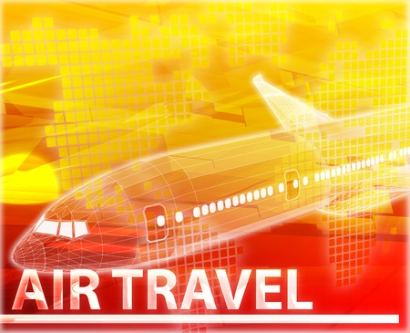 frequent: Abstract background digital collage concept illustration air travel
