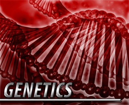 genes: Abstract background digital collage concept illustration genetics genes