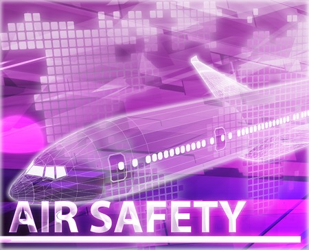 frequent: Abstract background illustration air travel safety