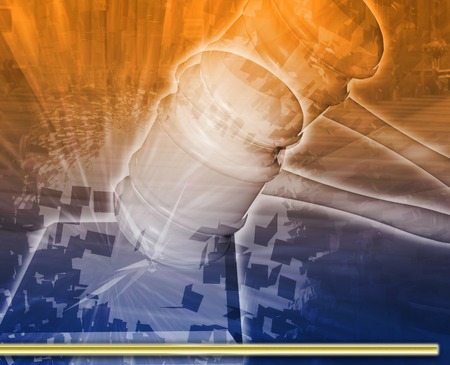 judicial: Abstract background illustration judicial hearing legal system