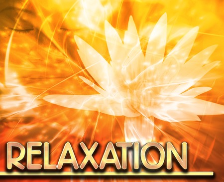 psychic: Abstract background digital collage concept illustration relaxation meditation Stock Photo