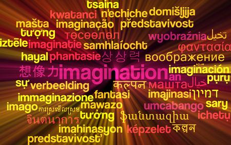 multiple image: Background concept wordcloud multilanguage international many language illustration of imigination glowing light