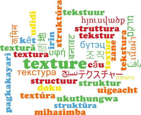 Background concept wordcloud multilanguage international many language illustration of texture Stock Photo