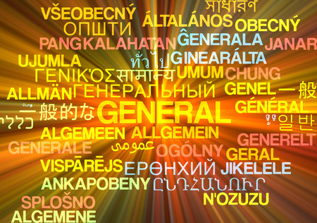 widespread: Background concept wordcloud multilanguage international many language illustration of general glowing light Stock Photo