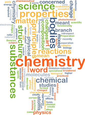 oxidation: Background concept wordcloud illustration of chemistry